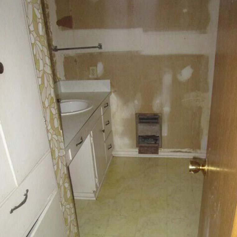 Bathroom Remodel: Before